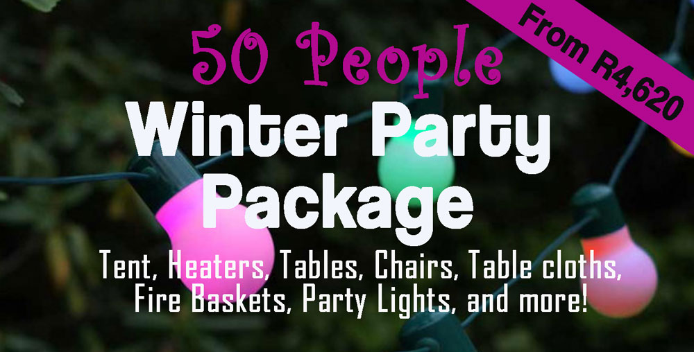 50 People Party Package