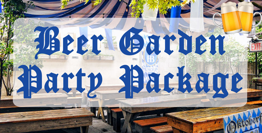 Beer Garden Party